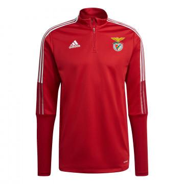 Sweat zippé junior Benfica rouge 2021/22
