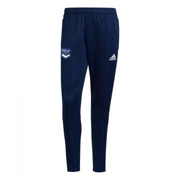 Pantalon survêtement junior Bordeaux bleu 2021/22