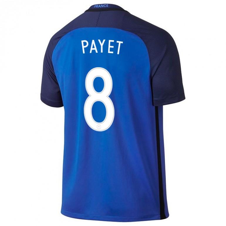 Maillot Payet junior Equipe de France FFF domicile 2016