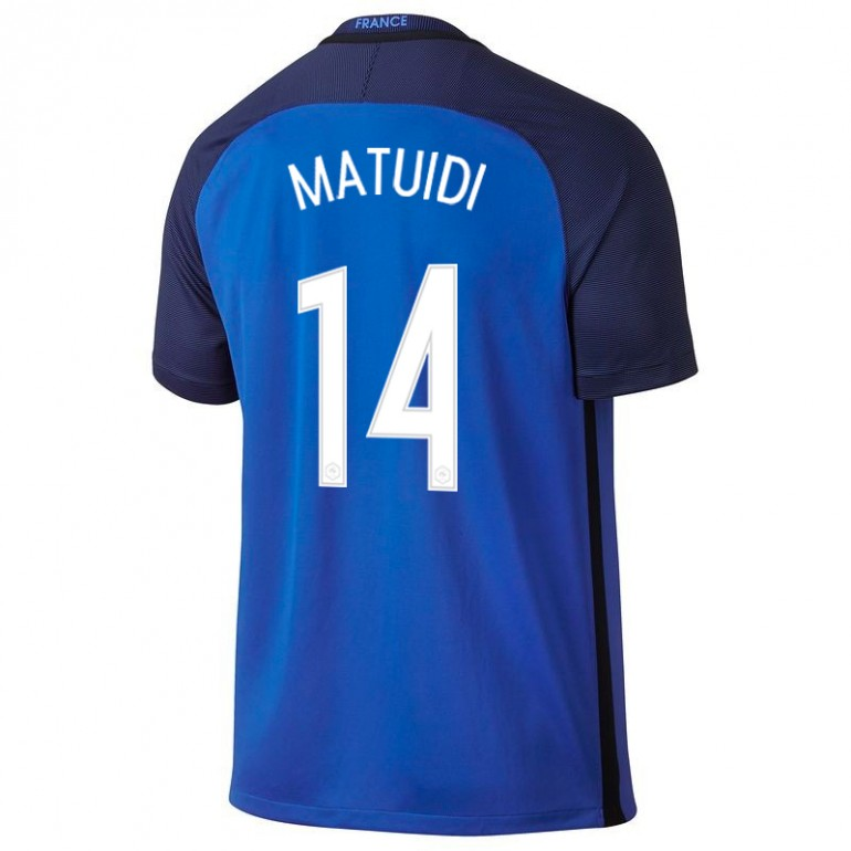 Maillot Matuidi junior Equipe de France FFF domicile 2016