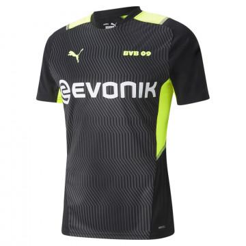 Maillot entraînement Dortmund noir jaune 2021/22