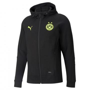 Veste survêtement Dortmund noir jaune 2021/22