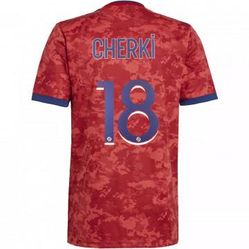 Maillot Cherki OL extérieur 2021/22