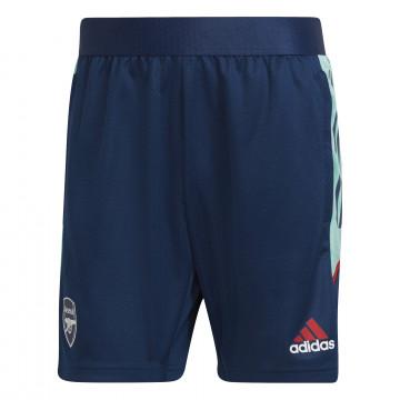 Short entraînement Arsenal Europe bleu 2021/22