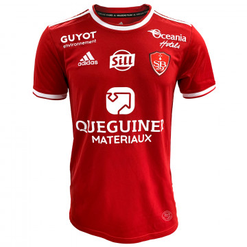 Maillot Stade Brestois domicile 2021/22