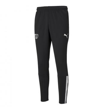 Pantalon survêtement junior Nîmes Olympique noir blanc 2021/22