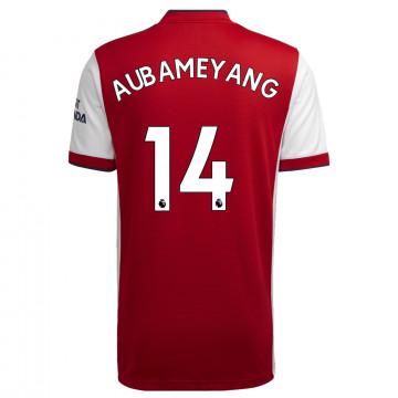Maillot Aubameyang Arsenal domicile 2021/22