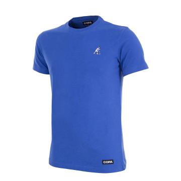 T-shirt France Zidane bleu