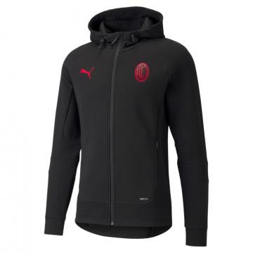 Veste survêtement Milan AC Casual noir rouge 2021/2
