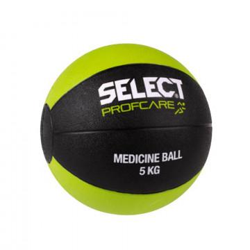 Medicine ball Select noir vert