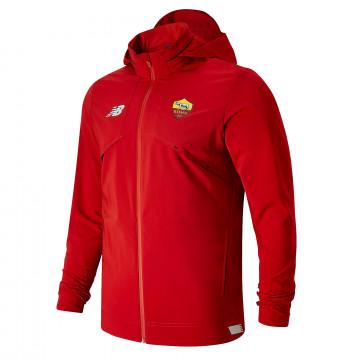 Veste survêtement à capuche AS Roma rouge 2021/22