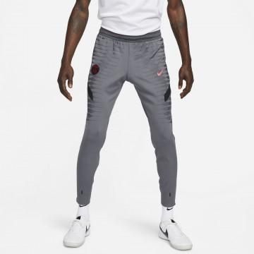 Pantalon survêtement PSG Strike Elite gris rouge 2021/22