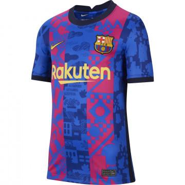 Maillot junior FC Barcelone third 2021/22 + flocage