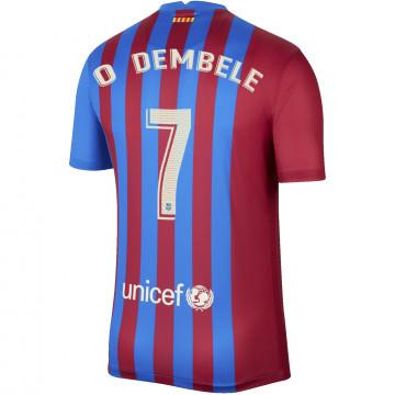 Maillot Dembele FC Barcelone domicile 2021/22