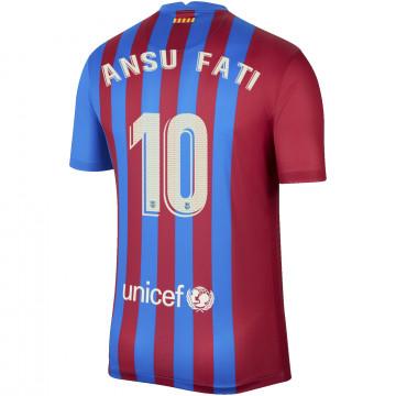Maillot Ansu Fati FC Barcelone domicile 2021/22