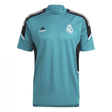 Maillot entraînement Real Madrid Europe bleu 2021/22