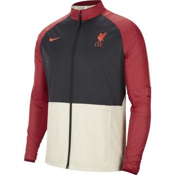 Coupe vent Liverpool noir rouge 2021/22