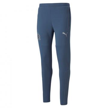 Pantalon survêtement OM Casual bleu 2021/22