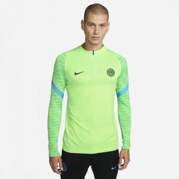 Sweat zippé Inter Milan Strike vert 2021/22
