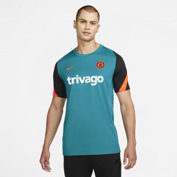 Maillot entraînement Chelsea bleu orange 2021/22