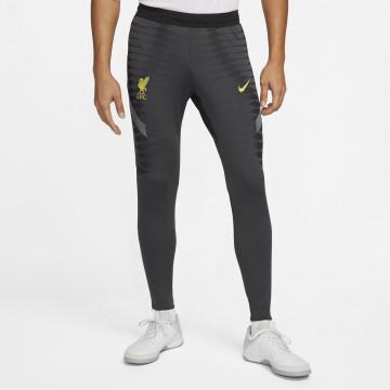 Pantalon survêtement Liverpool Strike Elite noir jaune 2021/22