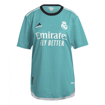 MAILLOT REAL MADRID THIRD AUTHENTIQUE 2021/22