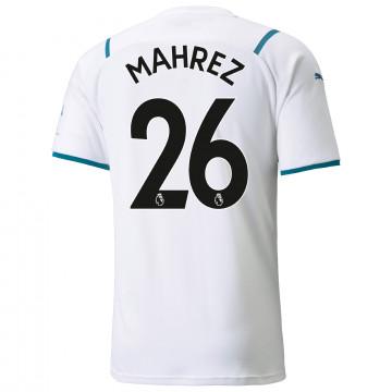Maillot Mahrez Manchester City extérieur 2021/22