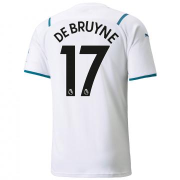 Maillot De Bruyne Manchester City extérieur 2021/22