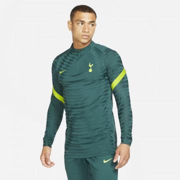 Sweat zippé Tottenham Strike Elite vert 2021/22