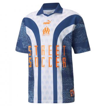 T-shirt OM Street Soccer bleu 2021/22