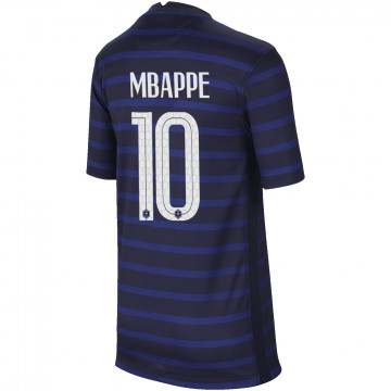 Maillot junior Mbappé Equipe de France domicile 2020