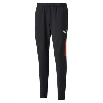 Pantalon entraînement AC Milan noir rouge 2021/22