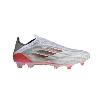 adidas X Speedflow+ FG gris rouge