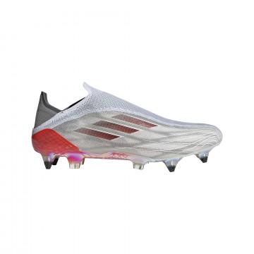 adidas X Speedflow+ SG gris rouge