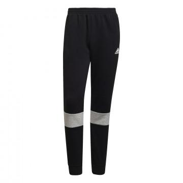 Pantalon survêtement adidas molleton noir gris