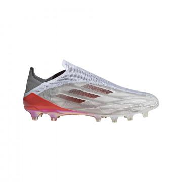 adidas X Speedflow+ AG gris rouge