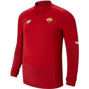 Sweat zippé AS Roma rouge 2021/22