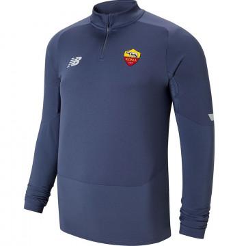 Sweat zippé AS Roma gris 2021/22