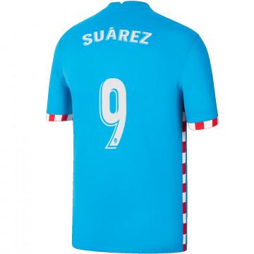 Maillot Suarez Atlético Madrid third 2021/22