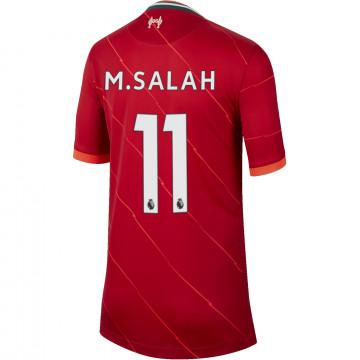 Maillot junior Salah Liverpool domicile 2021/22
