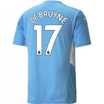 Maillot De Bruyne Manchester City domicile 2021/22