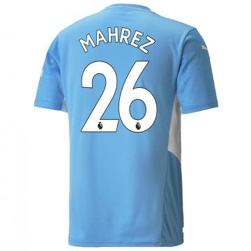 Maillot Mahrez Manchester City domicile 2021/22