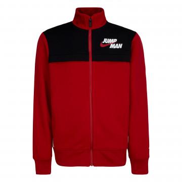 Veste survêtement junior Nike Jump Man rouge noir 2021/22
