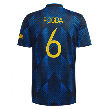 Maillot Pogba Manchester United third 2021/22