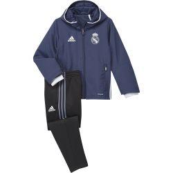 Ensemble Survêtement Enfant Real Madrid bleu 2016 - 2017