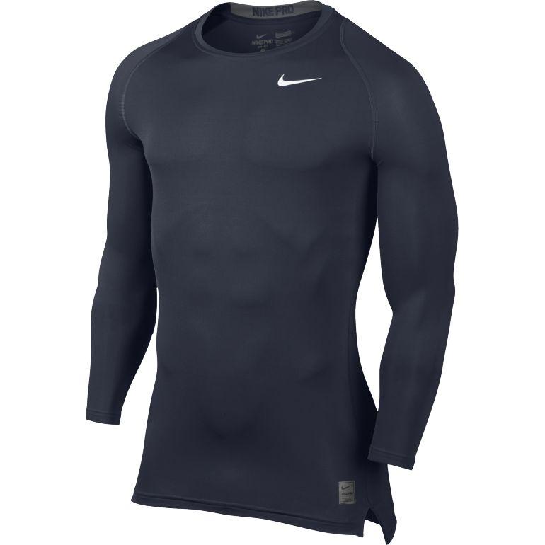 Maillot Technique Nike Manches Longues bleu