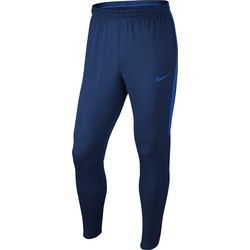Pantalon Entraînement Football Nike Dry Squad bleu bandes bleu clair