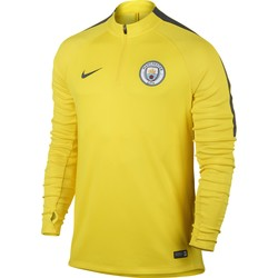 Sweat Zippé Manchester City jaune 2016 - 2017