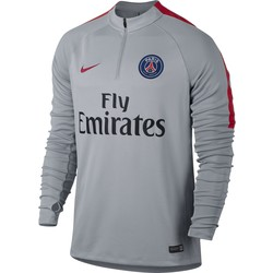 Men's Paris Saint-Germain Drill Top BLACK OR GREY 2016 - 2017