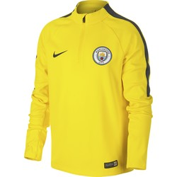 Kids' Manchester City FC Drill Top YELLOW
